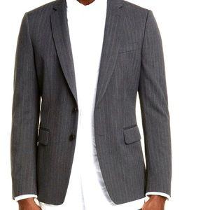 Dries Van Noten Pinstripe Sport Coat Blazer 52 Gr